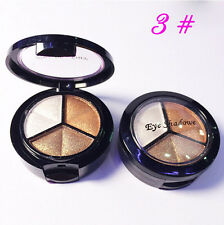 3 Colors Fashion Eyeshadow Natural Smoky Cosmetic Eye Shadow Palette Make Up Set