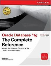 Oracle Database 11g The Complete Reference Oracle Press