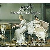 100 Piano Classics, Various Artists, Very Good Box set