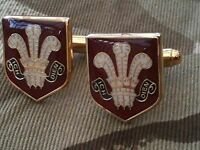Royal Regiment of Wales Military Cufflinks