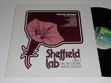 MICHAEL NEWMAN M- Sheffield Lab 10 Direct to Disc Turina Bach Albeniz De La Maza