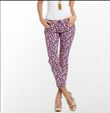 Lilly Pulitzer Candy Hearts Skinny Jeans Size 2 ($158 Price Tag) NWT valentines