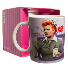 I Love Lucy Vitameatavegamin Funny 11oz Ceramic Coffee Mug Tea Cup In Gift Box