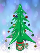 New Inflatable Christmas Tree Tin Can Office Dorm Holiday Blow Up