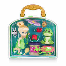 New Official Disney Tinkerbell Mini Animator Doll Playset With Accessories