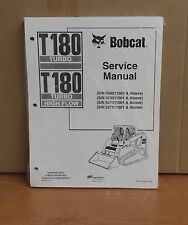 Bobcat T180 Track Loader Service Manual Shop Repair Book 1 Part # 6902502