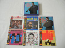 John Coltrane JAPAN 6 titles Mini LP CD SS + PROMO BOX SET