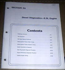 1985 FORD F250 F350 SDUTY TRUCK FACTORY 6.9L DIESEL DIAGNOSTICS &  SETTINGS