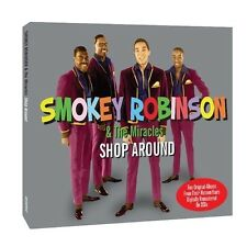Smokey Robinson/The Miracles Hi We're The Miracles/Cookin' With 2-CD NEW SEALED