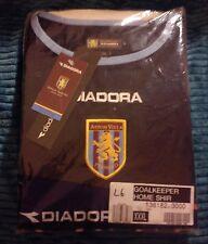 ASTON VILLA FOOTBALL CLUB 2003 AVFC GOALKEEPER SHIRT XXXL 3XL DIADORA ROVER BNWT