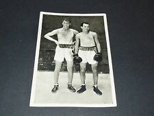 LOS ANGELES 1932 J.O. OLYMPIC GAMES OLYMPIA BOXE BOXING SCHLEINKOFER ROBLEDO