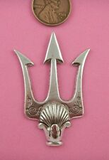 VINT DESIGN ANT SILVER LARGE TRIDENT HEAD-1 PC(s)