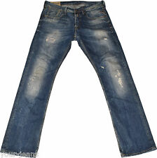Replay Jeans  MA 924  W33 L34  Vintage  Used/Destroyed Look
