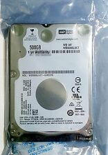 "WD 500GB Internal HDD 2.5"" 7mm SATA WD5000LUCT Western Digital FACTORY SEALED"
