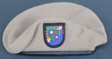 Authentic New 2nd Battalion 75th Ranger Regiment Tan Beret, Special Operations
