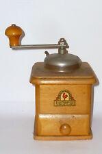 Antiguo Lehnhartz Molinillo de café molino madera RAR