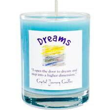 CANDLE - DREAMS Herbal Magic Soy Votive in Glass Holder - Crystal Journey