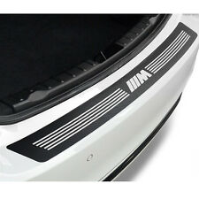 Carbon Fiber Pattern M Performance Emblem Car Rear Bumper Decal Sticker For BMW