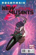 NEW MUTANTS ISSUE 34 - ABNETT & LANNING MARVEL COMICS - X-MEN REGENESIS