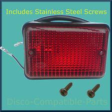 Land Rover Defender Fog Light Unit + Stainless Steel Screws Upto 1998