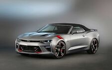 """2016 Chevrolet Camaro SS Accent muscle tuning Mini Poster 13""""x19"""" HD"""
