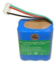 2YR Warranty NEW Mint plus 5200 5200C Battery Braava 380t 3000mAh 72v NI-MH