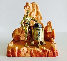 "HASBRO STAR WARS 3.75INCH POWER OF THE FORCE "" C-3PO & R2-D2 (SOUND) "" - RARE"