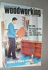 PRACTICAL WOODWORKING. 8-67 TOY ENGINE, BED TABLE WITH FOLD UP LEGS, TOOL TIDY