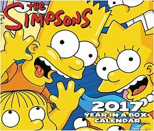 THE SIMPSONS - 2017 DAILY DESK CALENDAR - BRAND NEW - TV SHOW LMB245