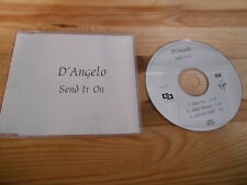 CD POP D'Angelo-send It On (3) canzone PROMO VIRGIN/EMI SC