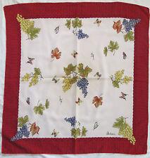 -Superbe Foulard  MIZAR  100% soie  TBEG  vintage scarf