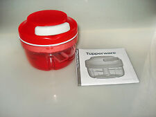 Tupperware Turbo Chef ROT Zwiebelschneider Happy Mini Quick-Chef Speedy Boy