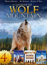 The Legend of Wolf Mountain/The Trackers/Pony Express Rider/Time of the Wolf (DV