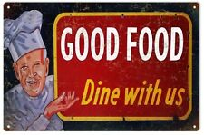 Reproduction Good Food Bar and Restaurant Sign
