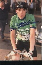 Ronan PENSEC PEUGEOT cyclisme cycling Photo signée tour de france cycliste