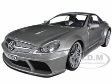 MERCEDES SL65 AMG BLACK SERIES (R230) GREY 1/18 DIECAST MODEL BY MOTORMAX 79161