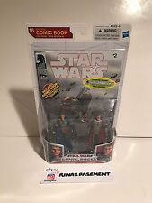 Star Wars Comic packs Montross Jaster Mereel Mandalorian Entertainment Earth EE
