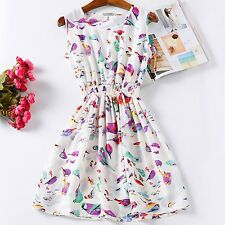 Women Clothes Summer Dress Womens Beach Mini Ladies Holiday Casual Dresses New
