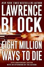 Eight Million Ways to Die (Matthew Scudder Mysteries)-ExLibrary