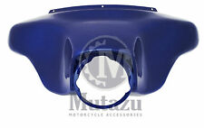 Cobalt Blue Harley Touring Outer Batwing front Fairing Road King Electra glide