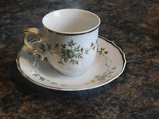 Hollohaza Tea Cup and Saucer #13 made in Hungary