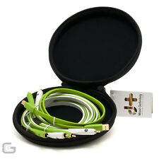 NEO OYAIDE D+ BOX SET 2X PRO RCA PHONO LEADS 1X PROFESSIONAL USB CABLE KIT - NEW