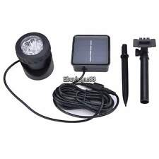 Outdoor Garden Digital Solar Powered 6 LED (White) Security Flood Spot Light EHE