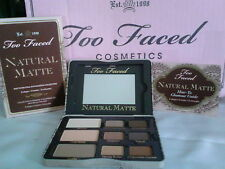 Too Faced Natural Matte - Matte Neutral Eye Shadow Collection- BRAND NEW & AUTH