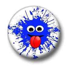 Splat! 1 Inch / 25mm Pin Button Badge Cute Cartoon Splodge Wacky Zany Fun Kids