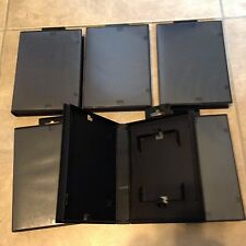 Lot 6 NEW Sega Genesis Empty Replacement Game Cases Blank Clamshell USA seller