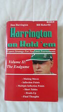 Harrington on Hold'em - Volume 2 - The Endgame - Dan Harrigton Bill Robertie