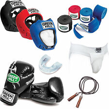 Greenhill boxing set gloves head guard jump rope cup support limited time offer