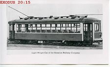 6E401 NOT NOT RP 1920s/50s? SCRANTON RAILWAY LIGHTWEIGHT CAR #400