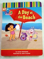 Dora The Explorer A Day at the Beach Silverhardt, Lauryn Illustrated